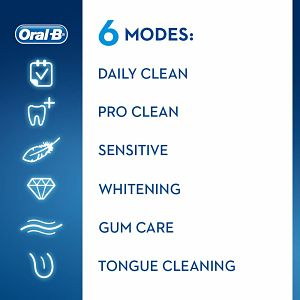 Oral B Electric Toothbrush Cleaning Modes