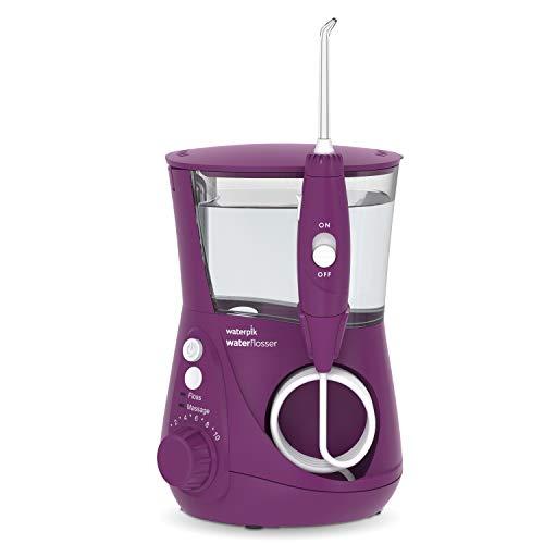 Waterpik WP-665 Water Flosser Electric Dental Countertop Professional Oral Irrigator For Teeth, Aquarius, Orchid