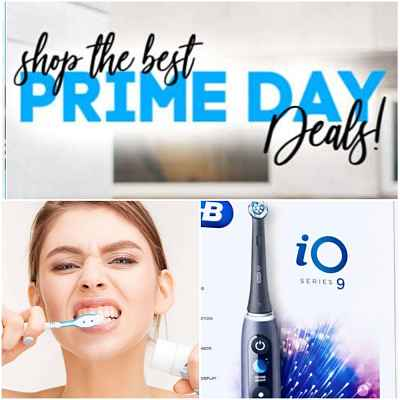 Amazon Prime Day Electric Toothbrush Water Flosser Deals