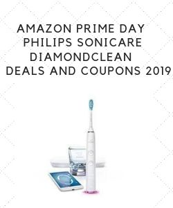 Best Amazon Prime Day Philips Sonicare DiamondClean Deals and Coupons 2019