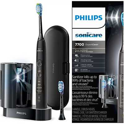 Philips Sonicare ExpertClean 7700 with UV Sanitizer