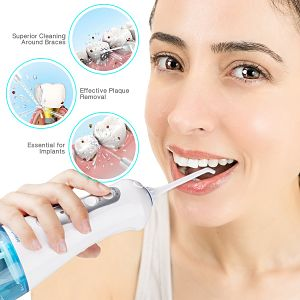 Water Flosser vs Regular Flossing