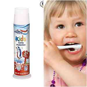 Top 3 Best Toothpaste for Kids 2020 (Flouride and Floride Free FDA approved Reviews)