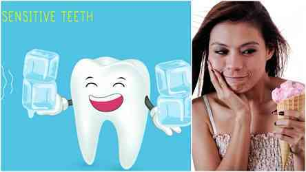 worn out tooth enamel